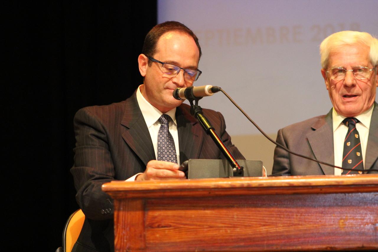 Manuel Fariñas, nuevo director del Colegio San Ignacio