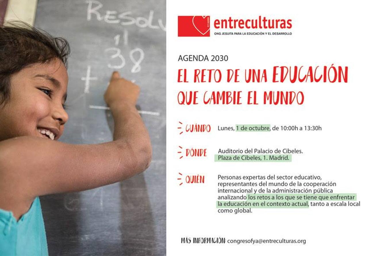 Invitación Acto Público Entreculturas 1 de octubre