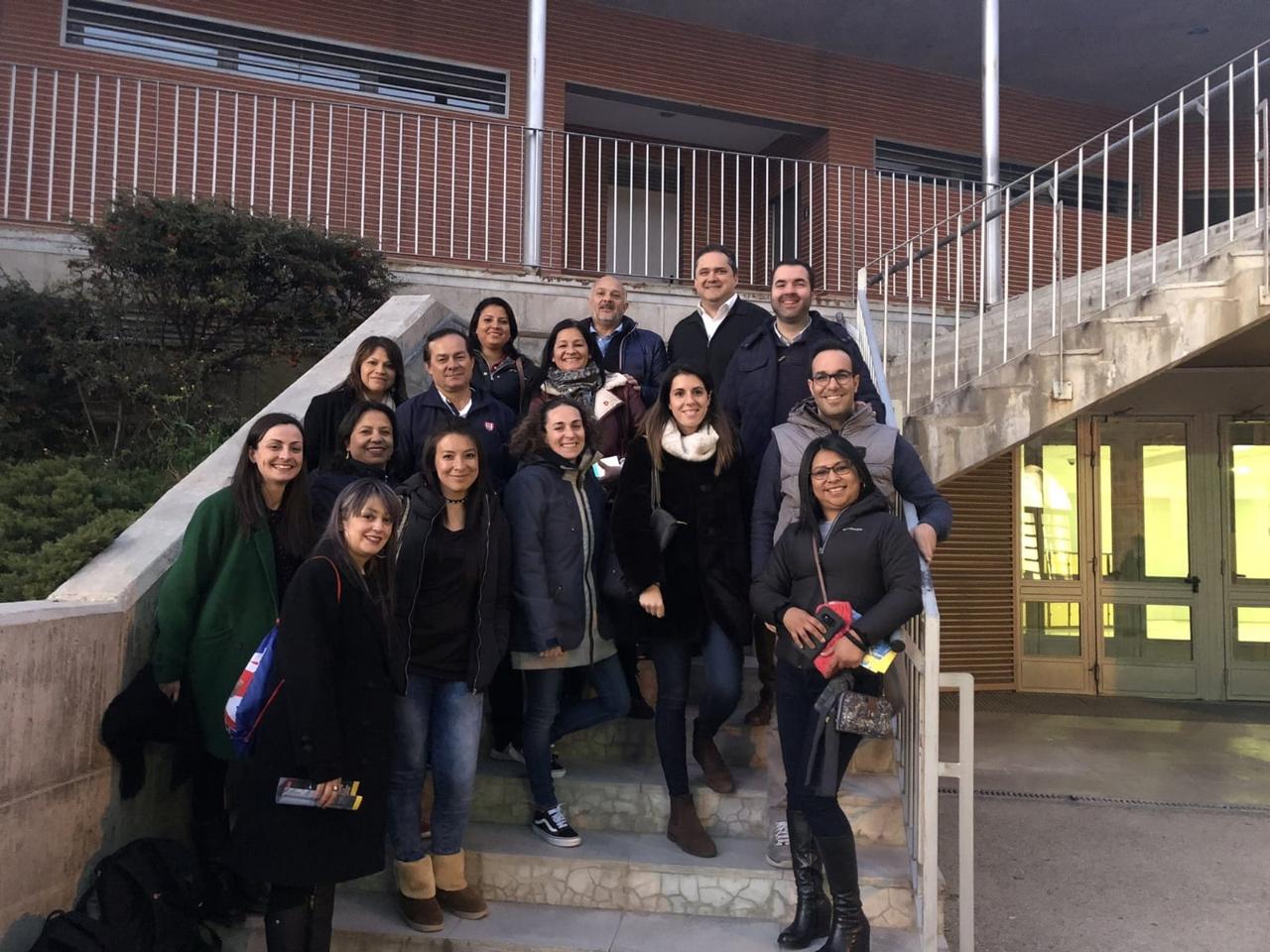 Visita Fe y Alegria a Piquer (1)