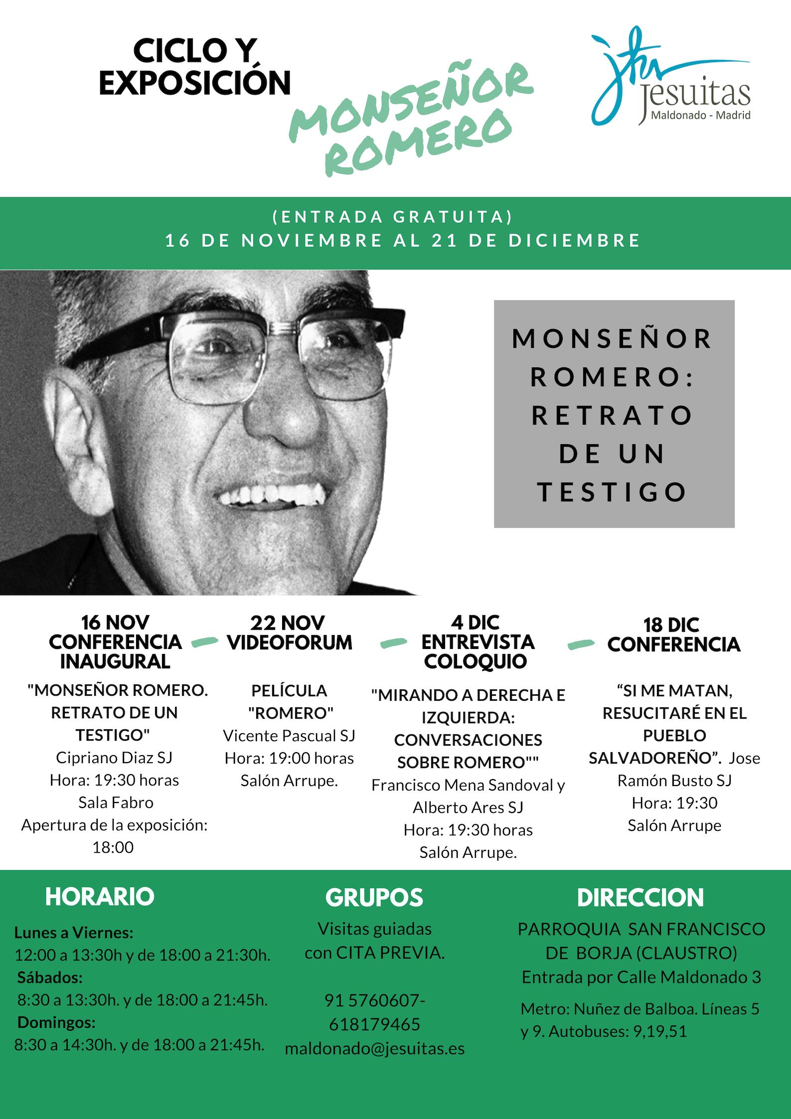 monseñor romero cartel DISTRIBUCIÓN